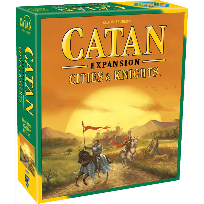 Catan: Cities & Knights Expansion Front