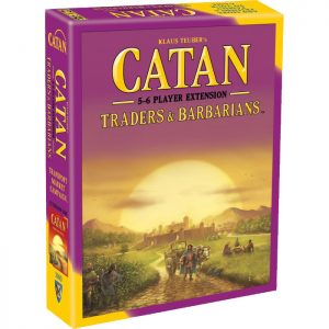 Catan: 5 to 6 player Traders & Barbarians Expansion Front