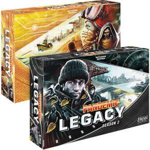 Pandemic: Legacy Season 2 front