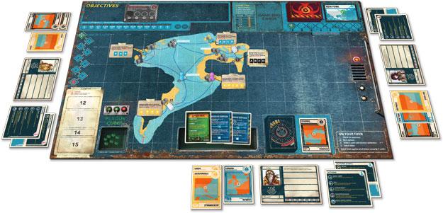 Pandemic: Season 2 map