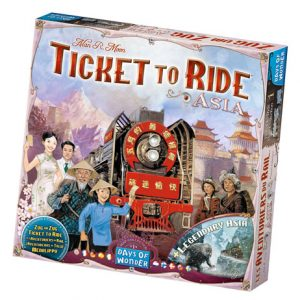 Ticket to Ride: Asia Map Expansion front