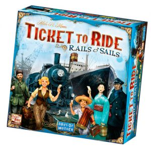 Ticket to Ride Rails and Sails front