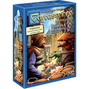 Carcassonne: Traders & Builders front