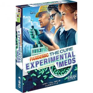 Pandemic: The Cure: Experimental Meds front