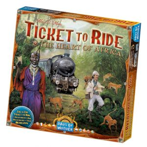 Ticket to Ride: Africa front
