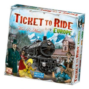 Ticket to Ride: Europe front
