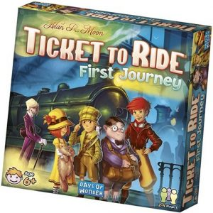 Ticket to Ride: First Journey USA front