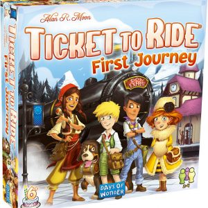 Ticket to Ride: First Journey Europe front