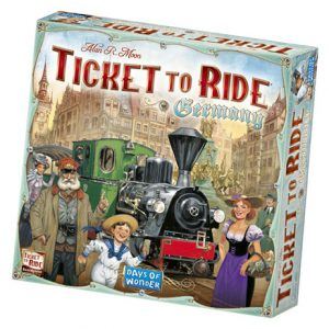 Ticket to Ride: Germany Front