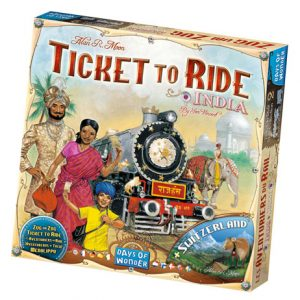 Ticket to Ride: India front