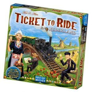 Ticket to Ride: Nederland front