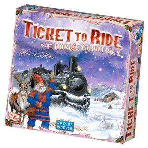 Ticket to Ride: Nordic Countries front