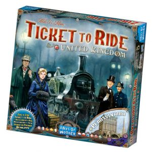 Ticket to Ride: United Kingdom Expansion front