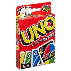 Uno Card Game front