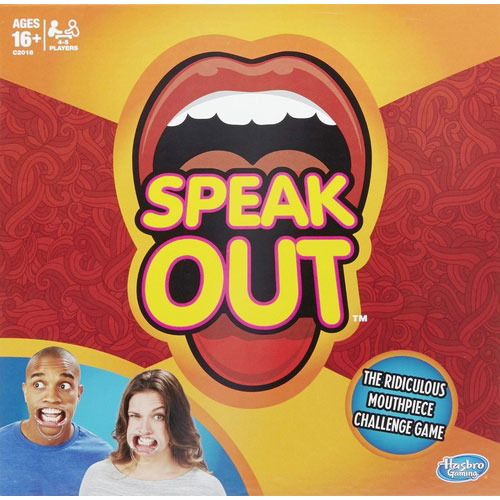 Speak Out front
