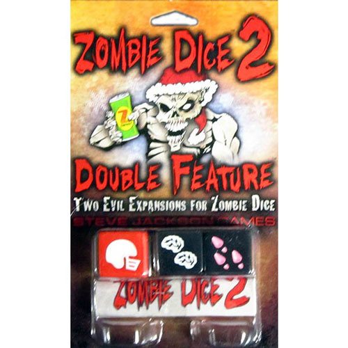 Zombie Dice 2: Double Feature front