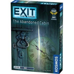 Exit: The Abandoned Cabin front