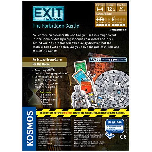 Exit: The Forbidden Castle back
