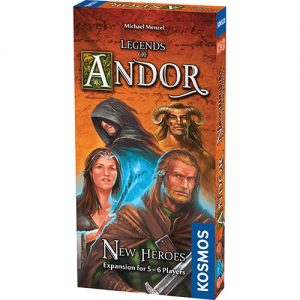 Legends of Andor: New Heroes Expansion front