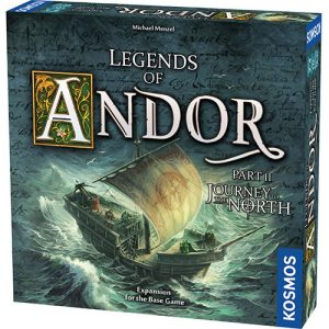 Legends of Andor: Journey to the North front