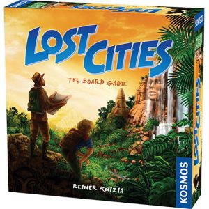 Lost Cities: The Board Game front