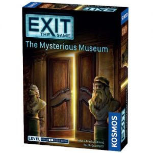 Exit: The Mysterious Museum front