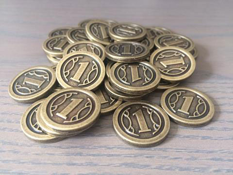 Charterstone coins