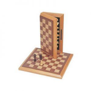 "Chess Set 12"" Board Walnut"