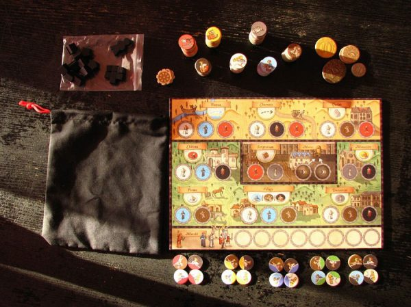 Orleans 5th Player contents