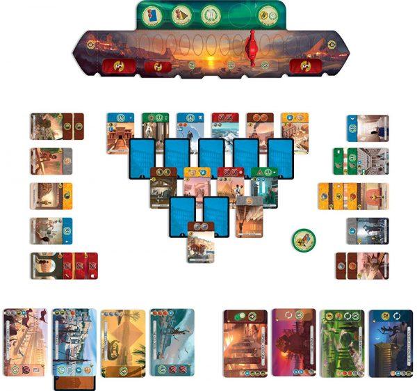 7 Wonders Duel cards