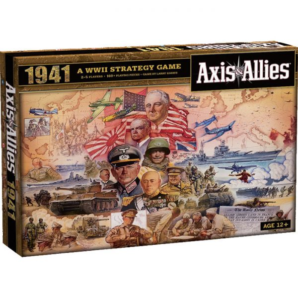 Axis & Allies 1941 front