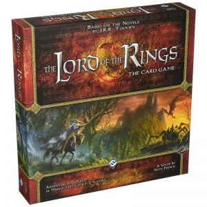 Lord of the Rings The Card Game box