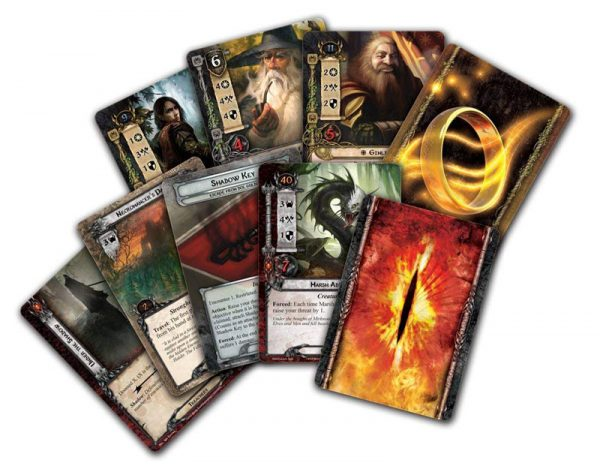 Lord of the Rings The Card Game cards