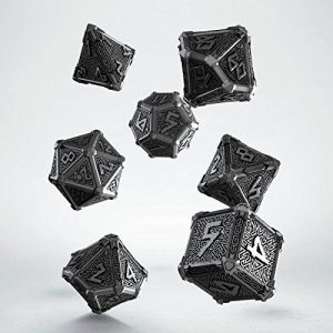 Metal Mythical Dice Set Bare Metal