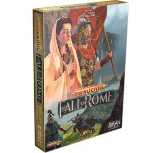 Pandemic: Fall of Rome front