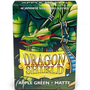 Dragon Shield Sleeves Apple Green Matte