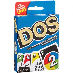 Dos Card Game front