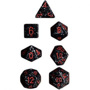 Chessex Specled Space Dice Set