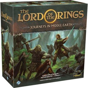 Lord of the Rings: Journeys in Middle Earth box
