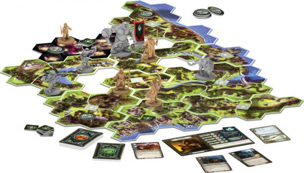 Lord of the Rings: Journeys in Middle Earth board