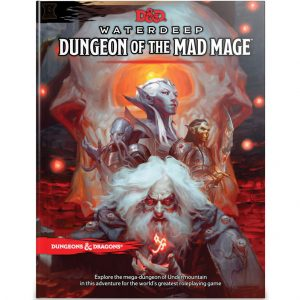 Dungeons & Dragons: Waterdeep: Dungeon of the Mad Mage Book