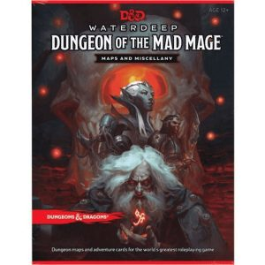 Dungeons & Dragons: Waterdeep: Dungeon of the Mad Mage Maps and Miscellany