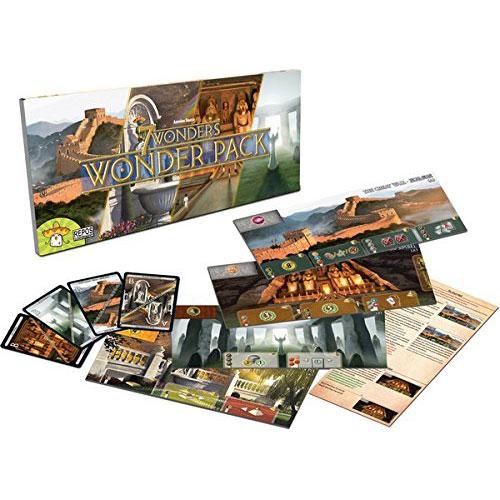 7 Wonder Wonder Pack Expansion Contents