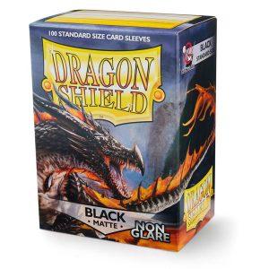 Dragon Shield Standard Black Matte Non-Glare box