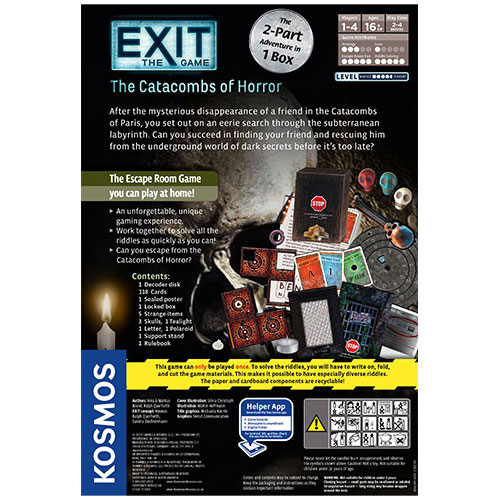 Exit: The Catacombs of Horror back