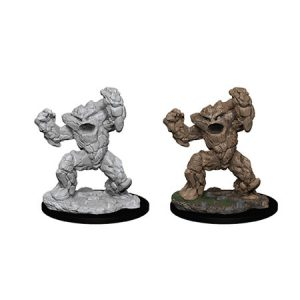 D&D Nolzur's Unpainted Miniatures Earth Elemental