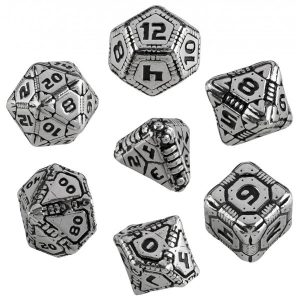 Metal Tech Dice Set