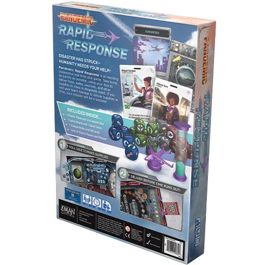 Pandemic: Rapid Response back