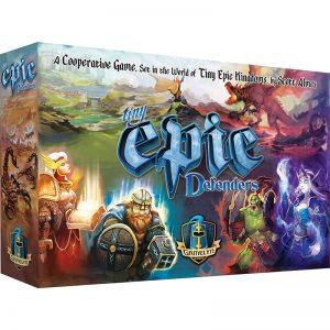 Tiny Epic Defenders box