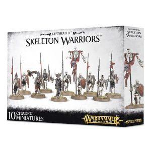 Warhammer: Age of Sigmar: Deathrattle Skeleton Warriors